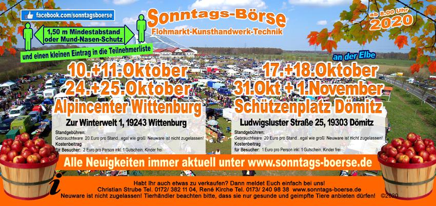 Sonntagsbörse Wittenburg